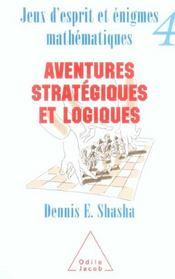 Jeux D'Esprit Et Enigmes Mathematiques 4 - Intérieur - Format classique