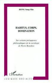Habitus Corps Domination - Couverture - Format classique