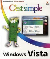Windows vista c'est simple - Intérieur - Format classique