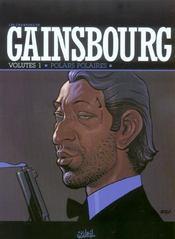 Les chansons de Gainsbourg ; volutes 1 ; polars polaires - Intérieur - Format classique