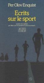 Ecrits Sur Le Sport - Couverture - Format classique