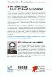 Mathematiques Pour L Etudiant Scientifique Tome Ii - 4ème de couverture - Format classique