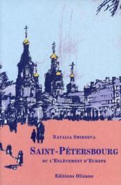 Saint-Pétersbourg ou l'enlèvement d'Europe - Couverture - Format classique
