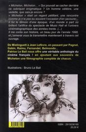 La forteresse des illusions ; petite anthologie du cinéma français - 4ème de couverture - Format classique