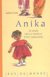 Anika - Le Jour Ou La Famille S'Est Agrandie - Intérieur - Format classique