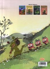 Raghnarok t.5 ; tempus fugit - 4ème de couverture - Format classique