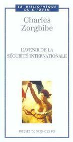 L'avenir de la sécurité internationale - Intérieur - Format classique