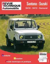Rta 502.5 Santana Et Suzuki S 410 Et 413 (82-94) - Couverture - Format classique
