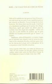 Le Banni Babel 510 - 4ème de couverture - Format classique