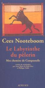 Le Labyrinthe Du Pelerin ; Mes Chemins De Compostelle - Couverture - Format classique