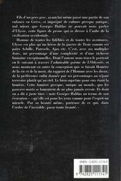 Ulysse Et La Lumiere Grecque - 4ème de couverture - Format classique