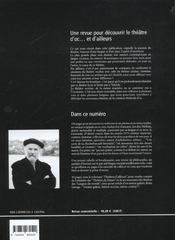 4 Jan Dau Melhau, Poete Paysan-Paien/Auteurs En Scene - 4ème de couverture - Format classique