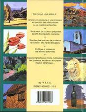 La Peinture Acrylique ; 100 Astuces - 4ème de couverture - Format classique