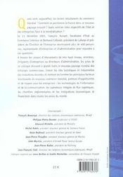 Dialogue Etat-Entreprises : Les Nouveauxcircuits Du Commerce Mondial - 4ème de couverture - Format classique