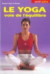 L'equilibre par le yoga - Intérieur - Format classique