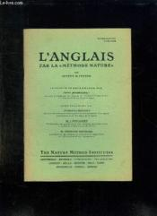 L Anglais Par La Methode Nature. Introduction A L Etude. - Couverture - Format classique