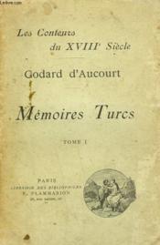 Memoires Turcs. Tome 1. - Couverture - Format classique