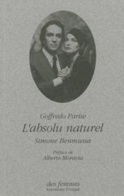 L'Absolu Naturel - Couverture - Format classique