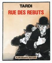 Rue Des Rebuts - Couverture - Format classique