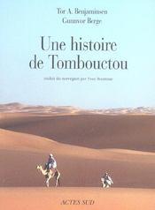 Une Histoire De Tombouctou - Intérieur - Format classique