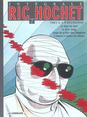 Ric Hochet ; intégrale t.7 - Intérieur - Format classique