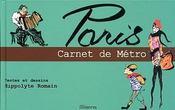 Paris, Carnet De Metro - Intérieur - Format classique