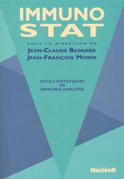 Immuno-Stat. Outils Statistiques En Immuno-Analyse - Intérieur - Format classique