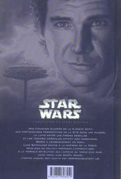 Star Wars - épisode V ; l'empire contre-attaque - 4ème de couverture - Format classique