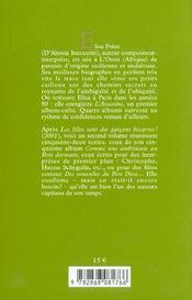 Petits Fragments De Soi A L'Abandon - 4ème de couverture - Format classique