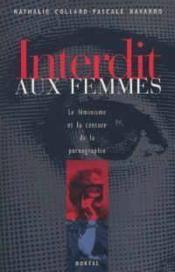 Interdit Aux Femmes - Couverture - Format classique