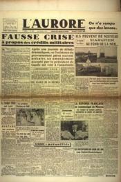 Aurore (L') N°432 du 02/01/1946 - Couverture - Format classique