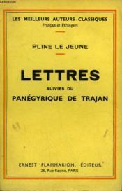Lettres Suivies Du Panegyrique De Trajan. - Couverture - Format classique