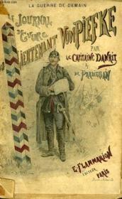 Le Journal De Guerre Du Lieutenant Vonpiefke. Tome 1 - Couverture - Format classique