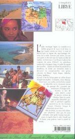 Libye - 4ème de couverture - Format classique
