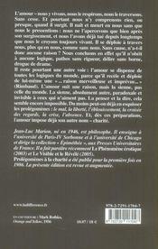 Prolegomenes A La Charite - 4ème de couverture - Format classique