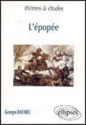 L'Epopee - Couverture - Format classique