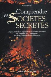 Comprendre Les Societes Secretes - Intérieur - Format classique