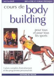 Cours De Body-Building - Intérieur - Format classique