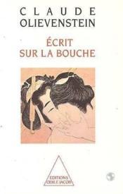Ecrit Sur La Bouche - Couverture - Format classique
