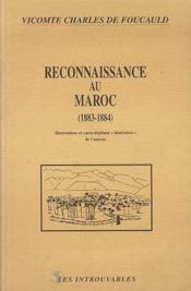 Reconnaissance Au Maroc, 1883-1884 - Couverture - Format classique