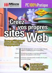 Pc 100% prat. creez vos sites web - Intérieur - Format classique