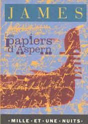 Les papiers d'Aspern - Intérieur - Format classique