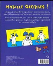 Habille georges - 4ème de couverture - Format classique