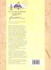 Les vies peu ordinaire d'isidore fusain - 4ème de couverture - Format classique