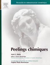 Peelings chimiques - Couverture - Format classique