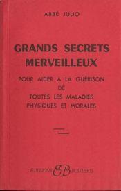 Grands Secrets Merveilleux - Intérieur - Format classique