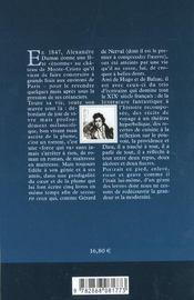 Alexandre Dumas - 4ème de couverture - Format classique