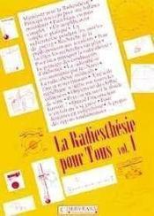Radiesthesie Pour Tous - Volume 1 - Couverture - Format classique