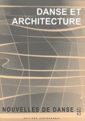 Danse et architecture - Couverture - Format classique