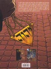 Le 36ème juste t.2 ; a l'ombre de la nuit - 4ème de couverture - Format classique